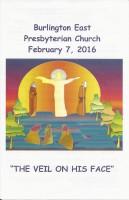 2016-02-07 Sermon