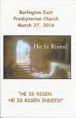 2016-03-27 Sermon
