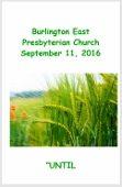 2016-09-11 Sermon