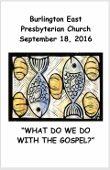 2016-09-18 Sermon