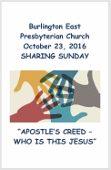 2016-10-23 Sermon