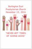2016-11-13 Sermon