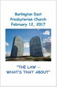 2017-02-12 Sermon